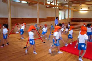 園児の体操教室